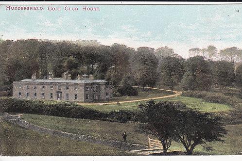 Huddersfield (Fixby) Golf Club Ref.1030 C.Pre 1914