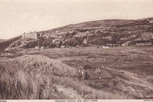 Harlech Golf Links Ref.1805 C.1936
