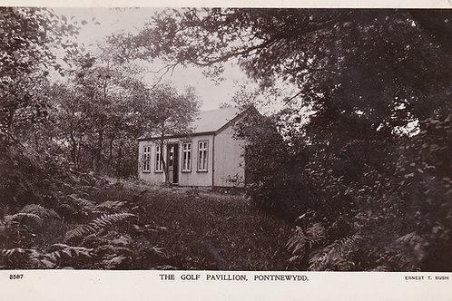 Pontnewydd Golf Pavilion,Cwmbran Ref 917 C.1915
