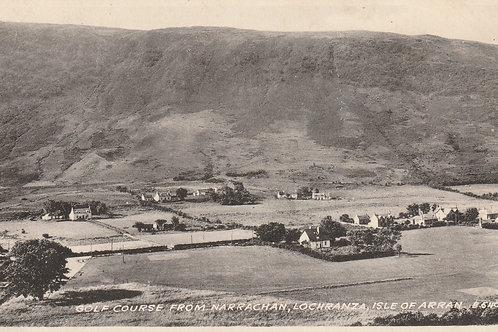 Lochranza Golf Links, Arran Ref.2593 C.1959