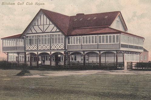 Mitcham Golf House C.ea 1900s Ref.615a