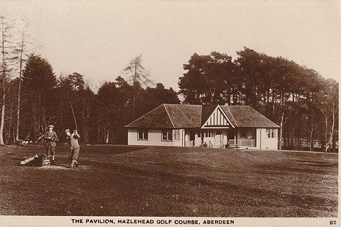 Hazelhead Golf Pavilion & 1st Tee Ref.2464 C.Pre 1932