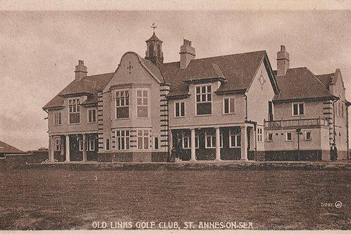 St. Annes Old Golf Club House Ref.2681 C.1917