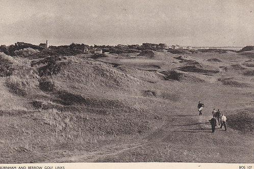 Burnham & Berrow Golf Links.Ref 948. C.1930s?