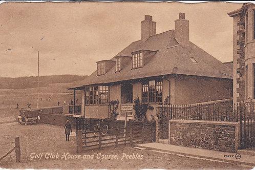 Peebles Golf House & Course Ref.1044