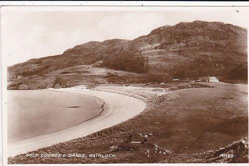Gairloch Golf Course & Sands Ref.1023 C.1935