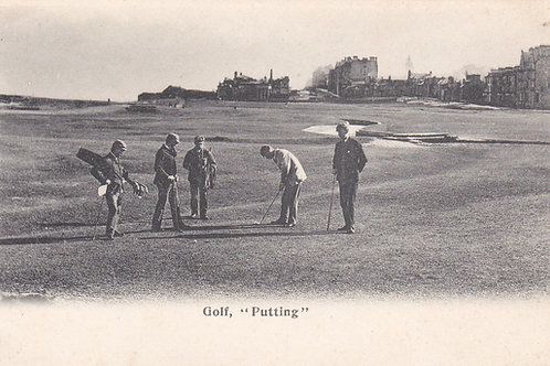SOLD>Ref.217.Hugh Kirkcaldy  Golfing Series.Ref 217. C.1902-04