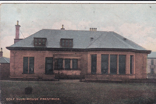 Prestwick Golf Club House Ref.1509 C.1902