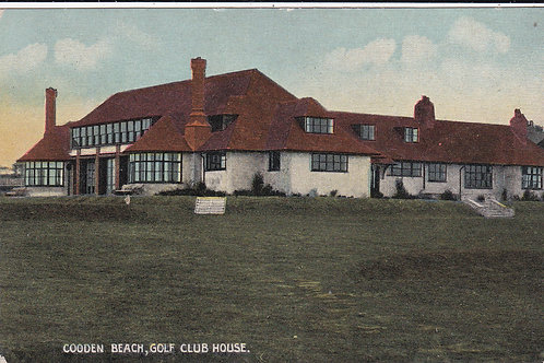 Cooden Beach G.C. Ref.1017 C.1930s-40s ?