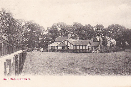 Stanmore Golf Club House Ref.1838 C.1910