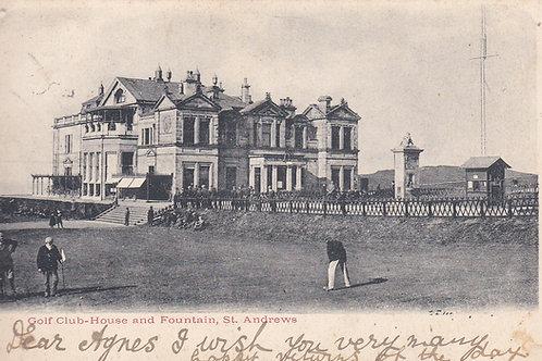 Tom Morris & St Andrews Ref.1063 C.pre 1903