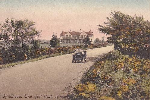 Hindhead Golf Club House & Motor.Ref 782. C.1913