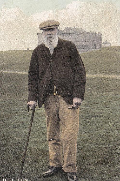 Tom Morris at St.Andrews Ref.928 C.1906