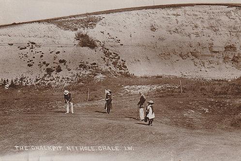 Chale Golf Links I.O.W Ref.2482 C.Ea 1905-10
