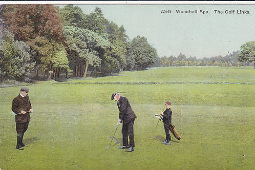 Woodhall Spa Golf Course Ref 458  C.Early 1900
