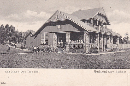 One Tree Hill Golf House C.1903 Ref.2092a