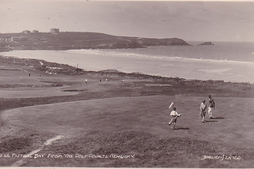 Newquay Golf Links Ref.2140a C.1930s-40s