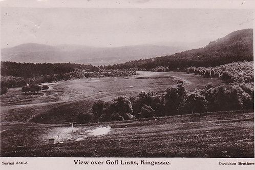 Kingussie, View over the Links 2132a C.1911