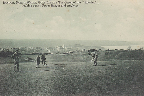 Bangor St Deiniol  Golf Course N.Wales C.1912 Ref.1193a