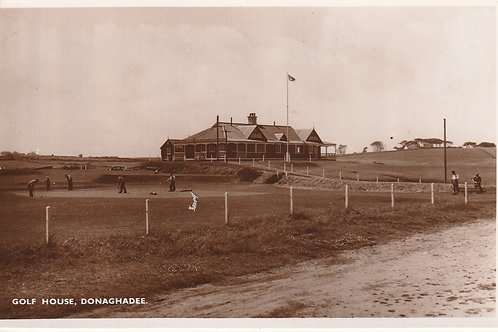 Donaghadee Golf Links & Pavilion Ref.2742 C.1940s?