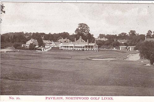 Northwood Golf Links (Railway) C.Ea 1900s Ref.676