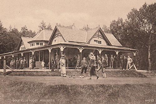 Kingussie Golf Pavilion Ref.2656 C.1910-14?