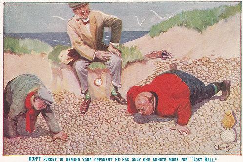Golf Ball Ad card Ref.1898 C.19
