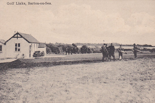 Barton-On-Sea Golf Club .Ref 717.C.Early 1900s