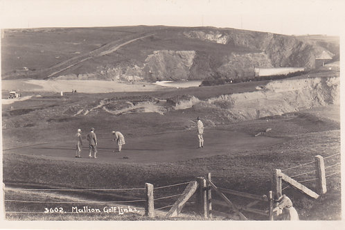 Mullion Golf Links,Cornwall.Ref 394. C.Early 1900s