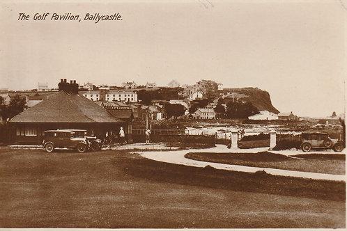 Ballycastle Golf Pavilion Ref.2292a C.1910-20