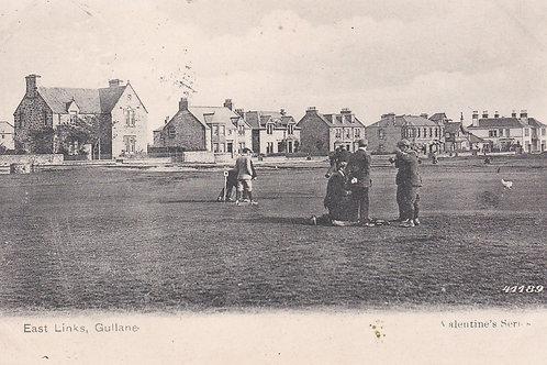 Gullane East Links Ref 2261a  1907