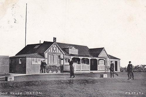 Oxton Golf Club House,Cheshire.Ref 202. C.1906