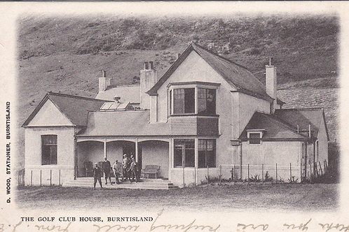 Burntisland Golf House Ref.1590 C.1904