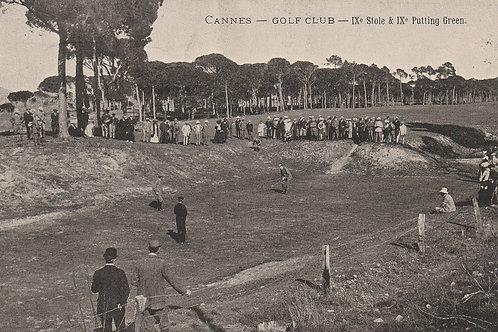 Braid v Vardon Match Cannes Ref.2428 C.Ea 1900s