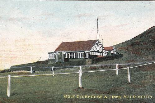 Accrington Golf Pavilion,Lancs C.Pre 1914 Ref 1420
