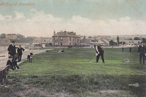 Musselburgh Golf Links.Ref 422. C.1900 (Musselburgh)