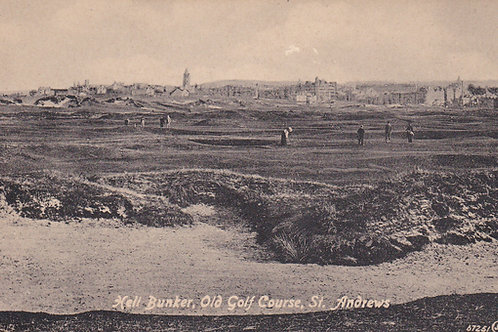 St.Andrews Links,/Hell Bunker.Ref 003. C.1915-18