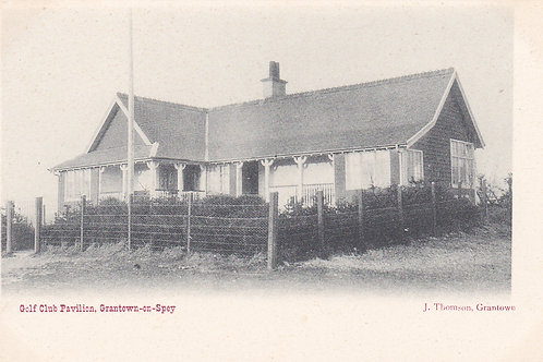 Grantown-on-Spey Golf House.Ref 755. C.Early 1900s