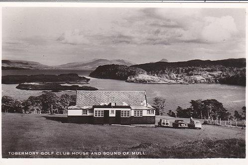 Tobermory Golf Club House Ref.1672 C.1955-65