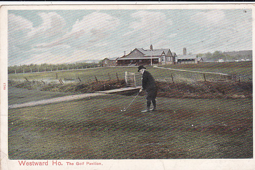 Westward Ho! Golf Links North Devon Ref.216 C.Pre 1914