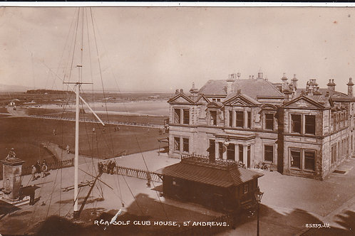 St Andrews & R & A Club House Ref.041 C.1922