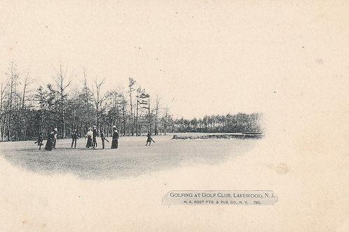 Lakewood Golf Club N.Jersey Ref.2387 C.ea1900