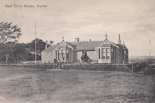 Forfar Golf Club House,Angus.Ref 195. C.1904