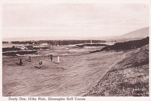 Gleneagles.Denty Den 15th Hole Ref.992 C.1920s