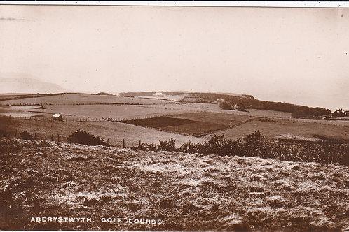 Aberystwyth Golf Course.Ref 1005 C.1910-15