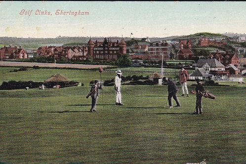 Sheringham Golf Links Ref.894 C.1907