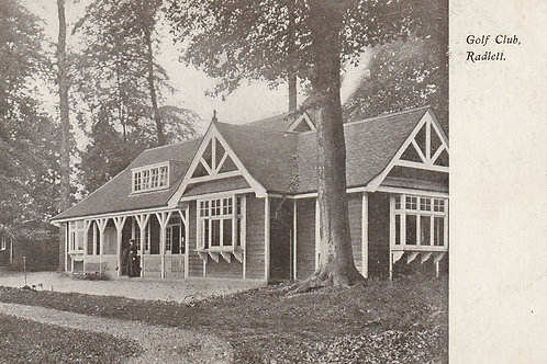 Porter's Park Golf Pavilion Ref.2368 C.1907