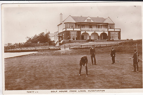 Hunstanton Golf Links & New Club House Ref.1523