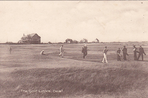 Deal Golf Links & Clubhouse Ref.1438 C.1920s