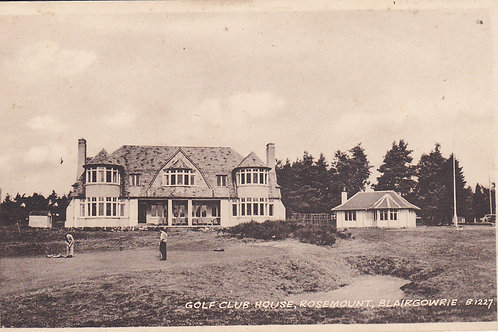 Blairgowrie Golf Club House Ref.1096 C.1940s